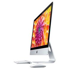 Apple iMac, 21 inch, 512 megabytes. Equipped with wireless keyboard, power cord and Apple magic mouse. http://www.zocko.com/z/JJSYA