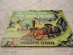 First Edition The  Little Train That Saved The Day