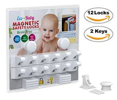 Baby & Child Proof Cabinet & Drawers Magnetic Safety Locks Set of 12 with 2 Keys By Eco-Baby - Heavy Duty Locking System with 3M Adhesive Tape Easy To Install Without Damaging Your Furniture - https://all4babies.co.business/baby-child-proof-cabinet-drawers-magnetic-safety-locks-set-of-12-with-2-keys-by-eco-baby-heavy-duty-locking-system-with-3m-adhesive-tape-easy-to-install-without-damaging-your-furniture/  #Adhesive, #Baby, #Cabinet, #Child, #Damaging, #Drawers, #D