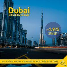 Visit Dubai, Dubai Uae, Eid Holiday, Flight And Hotel, Riyadh, Travel Deals, Tour Guide, Cn Tower, Books Online