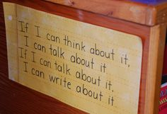 If I can... {Lucy Calkins}