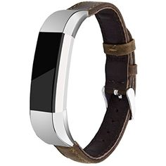 Fitbit Alta Band, KADES Vintage Genuine Leather Strap Fitness Replacement Wrist Band for Fitbit Alta HR, Fitbit Alta *** See this great product. (This is an affiliate link) #WellnessRelaxation