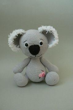 Ravelry: Koala Bear crochet pattern pattern by Katka Reznickova