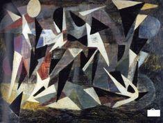 composition 1942 - nicolas de stael