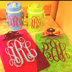 monogram anything