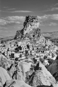 Capadocia cave dwellings from around the fifth century.