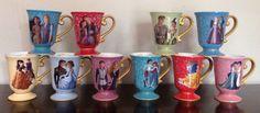 New Disney Designer Fairytale Collection Mug Set of all 10