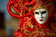 The Venice Carnival, or the Carnevale di Venezia is an annual festival held in Venice, Italy. Carnival starts around two weeks before Ash Wednesday and ends Fat Tuesday or Mardi Gras, the day before Ash Wednesday Mardi Gras Carnival, Carnival Of Venice, Venetian Masquerade, Venetian Masks, Republic Of Venice, Beautiful Mask, Carnival Costumes, Festival Dress, Shape Patterns