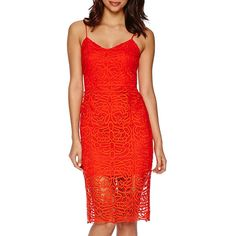 Bisou Bisou® Sleeveless Lace Sheath Dress - JCPenney