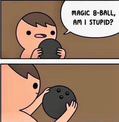 Magic 8 ball do tariffs promote free trade? Images Gif, Funny Images, Funny Photos, Best Funny Pictures, Top Memes, Best Memes, Funniest Memes, Dad Jokes, Funny Jokes