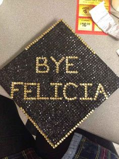 Top 12 Creative Ways to Decorate Your Graduation Cap Bye Felicia Graduation Cap Funny Graduation Caps, Graduation 2016, Graduation Cap Designs, Graduation Cap Decoration, High School Graduation, Graduate School, Funny Grad Cap Ideas, Graduation Crafts, Abi Motto