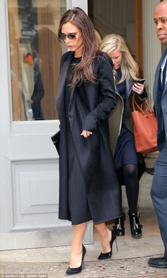 Victoria Beckham in NYC showing at #NYFW AW14