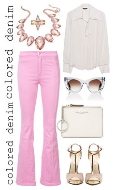 """""""Senza titolo #6188"""" by waikiki24 ❤ liked on Polyvore featuring Givenchy, Plein Sud, Marc Jacobs, Thalia Sodi and Thierry Lasry"""