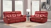 Wallace Collection Reclining Sofa & Loveseat Set H9604RED-Set