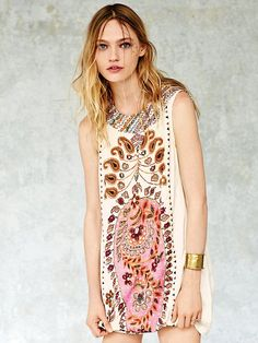 Free People FP New Romantics Gujakat Goddess Dress, $198.00