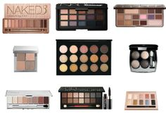 A collection of the best neutral eyeshadow palettes