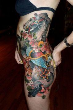 Beautiful design. #tattoo #horse