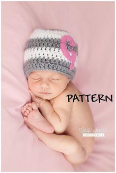 Baby hat pattern crochet hat pattern hat pattern crochet pattern baby girl hat pattern crochet baby girl pattern hat pattern crochet baby