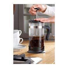 Because you may not have time to run to the dining hall before class - UPPHETTA coffee/tea maker.