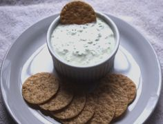 Cucumber dip recipe with cream cheese, grated onion, and chopped cucumber. A tasty cucumber dip recipe.