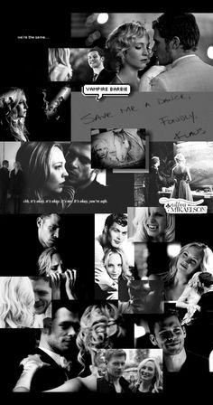 Vampire Diaries Poster, Vampire Diaries Seasons, Vampire Diaries Damon, Vampire Diaries Wallpaper, Vampire Diaries The Originals, Grey And White Wallpaper, Black Aesthetic Wallpaper, Aesthetic Wallpapers, Vampire Barbie