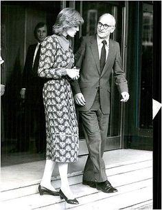 Vintage photo of Princess Diana