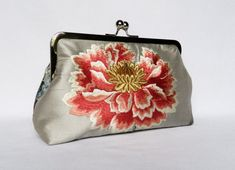 Excited to share the latest addition to my shop: Silk Floral Clutch Purse, Floral Wedding Clut Wedding Clutch, Bridal Clutch, Bridesmaid Clutches, Bridesmaid Gifts, Bridesmaids, Embroidered Silk, Embroidered Flowers, Handmade Clutch, Handmade Bags