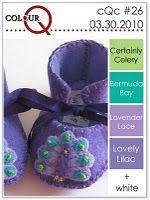 Colour Q #26 - love the purple & teal!