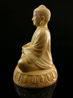 Будда, резьба по кости, бивень мамонта