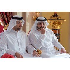 Mohammed bin Maktoum bin Rashid Al Maktoum y Maktoum bin Mohammed bin Rashid Al Maktoum, 22/12/2014. Vía: mohammedbinmaktoum