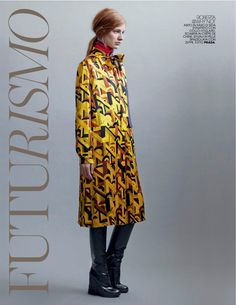 Marie Claire Italia September 2014 by Thierry Le Goues - PRADA Fall 2014