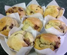 Recipe Banana Choc Chip Muffins by mariclare - Recipe of category Baking - sweet