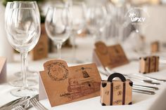 Orient Express, Place Cards, Place Card Holders, Creative, Weddings, Design, Wedding, Design Comics, Marriage