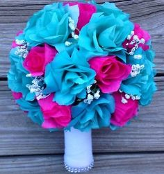 Turquoise And Fuschia Wedding Google Search