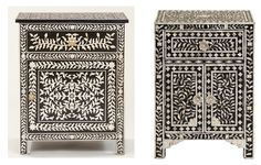 Bone Inlaid Nightstand Look for Less! Tight Budget, Beautiful Space, Nightstand, Islamic, Budgeting, Decorative Boxes, Create, Interior, Furniture