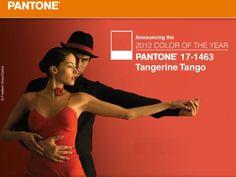 Tangerine Tango- Pantone's Color of the Year 2012
