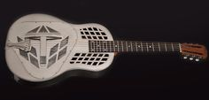 National NRP Steel Tricone guitar