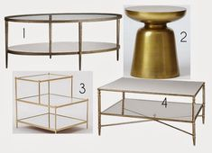 Check out my latest blog for Chicago Parent: Brass is BackI couldn't be happier that brass is making a comeback. It is a classic, timeless, staple for any home. Now, you might be thinking, 'no way!' or 'it looks like the cheap fixtures you find at the hardware store.'No, No, No. It is coming back in full force and I hope it stays for awhile.Now, what makes brass the new 'it' metal for your home?Lets begin by agreeing that we have all seen a little too much shiny chrome or brushed nickel… Mirrored Coffee Tables, Brass Coffee Table, Brass Table Lamps, Brass Sconce, Brass Chandelier, Vintage Coffee, Light Fixtures, Brushed Nickel