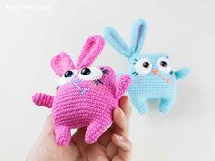 Conejo Amigurumi Patron Gratis : Patron gratis conejo amigurumi háčkované hračky
