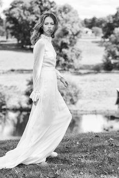 The 6 Prettiest 70s Inspired Wedding Dresses  Princessly Press