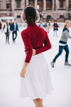 dustjacketattic: ice skating   park & cube