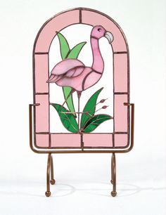 Here is the link to find that and other Flamingo Stained Glass. Description from ths.gardenweb.com. I searched for this on bing.com/images