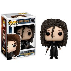 A pure-blood witch and known Death Eater, Madam Bellatrix Lestrange was fanatically loyal to Lord Voldemort and was among the most dangerous and sadistic of Lor Harry Potter Voldemort, Lord Voldemort, Rogue Harry Potter, Objet Harry Potter, Harry Potter Bellatrix Lestrange, Harry Potter Dragon, Figurine Pop Harry Potter, Harry Potter Pop Figures, Harry Potter Dolls