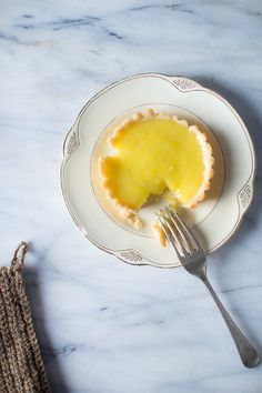 Lemon Tartlets with Olive Oil | Flourishing Foodie