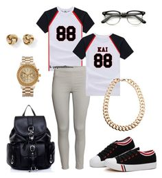 exo by chichi23 on Polyvore featuring polyvore fashion style H&M ASOS White House Black Market Gogo Philip
