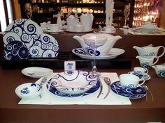 Porcel fine porcelain, made at the Porcel factory in Portugal