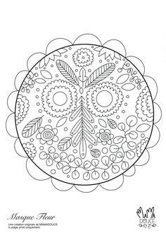 Colorithérapie : Visuel gratuit pour petits et grands. À télécharger sur le site de mamadouce.fr Une idée d'activité zen à faire en famille ou pour occuper les enfants ! Zen, Creations, Children