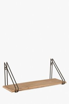 Our stylish sawyer shelf provides a perfect storage and display solution. The combination of wood and metal frame gives this shelf an industrial charm Wall Mounted Shelves, Shelf, Solid Wood Furniture, Wood And Metal, Wardrobe Rack, Living Room Furniture, Ranges, Storage, Room Dividers