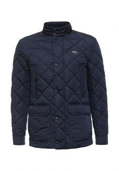 Куртка утепленная, Lacoste, цвет: синий. Артикул: LA038EMMJJ35.