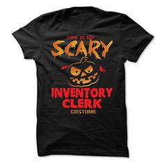 Halloween Costume for INVENTORY CLERK T-Shirts, Hoodies. GET IT ==►…